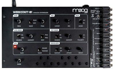 Moog Werkstatt-01 Analog Synth Kit & CV Expander