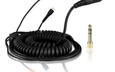 Cable Sennheiser HD 25 Espiral Deluxe Negro