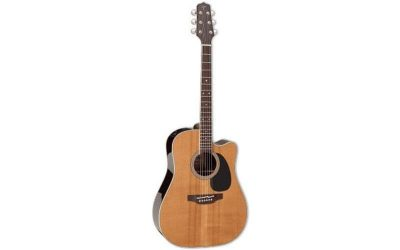 TAKAMINE THERMAL TOP SERIES DREADNOUGHT EF360 E/A THERMAL TOP CUTWAY – NATURAL
