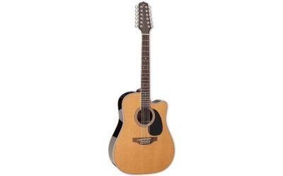 TAKAMINE THERMAL TOP SERIES DREADNOUGHT EF400 E/A THERMAL TOP CUTWAY – NATURAL