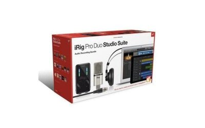 IRIG IKRIG SERIES PRO DUO, IRIG MIC STUDIO XLR, IRIG HEADPHONES | AT4, TR DELUXE, MIC ROOM, ST3 SE, MP2 CE