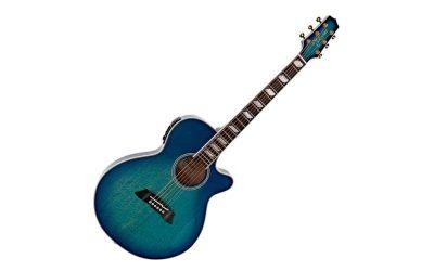 TAKAMINE GUITARRA ACÚSTICA THINLINE 178 A/E CUTAWAY – BLUE FLAMME