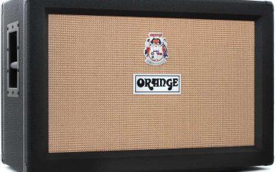 ORANGE Bafle para guitarra PPC212 BK.