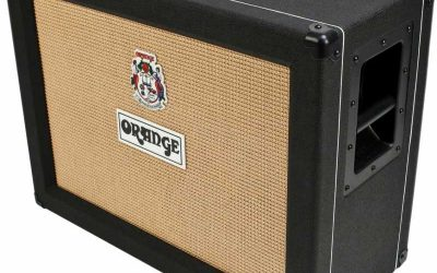ORANGE Bafle para guitarra PPC212OB BK.